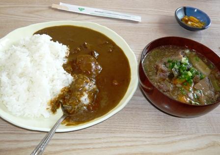 新垣食堂:カレー小