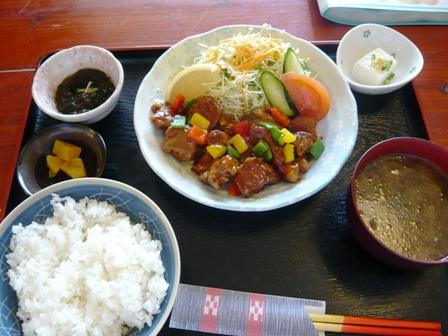 海鮮館:酢豚定食