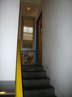 Tora Cafe:玄関