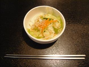 韓国市場:サラダ