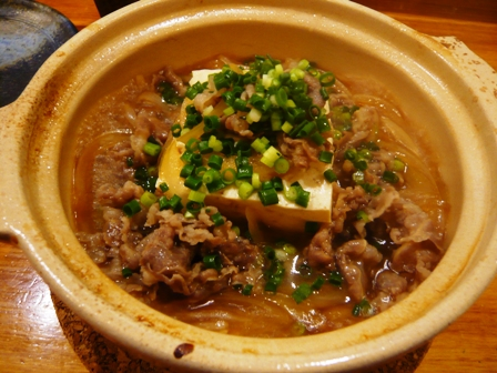 なつや:肉豆腐