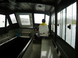 二男石垣旅行:川平湾グラスボート4