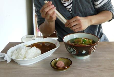 二男石垣旅行:新垣食堂2