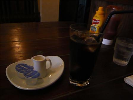 CORNERS GRILL:アイスコーヒー