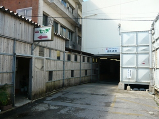 トレアドール:ホテルミヤヒラ裏の駐車場