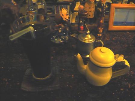 CAFE TANIWHA:アイスコーヒー