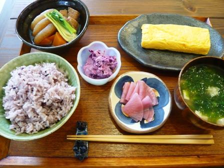 旬家ばんちゃん:朝食セット