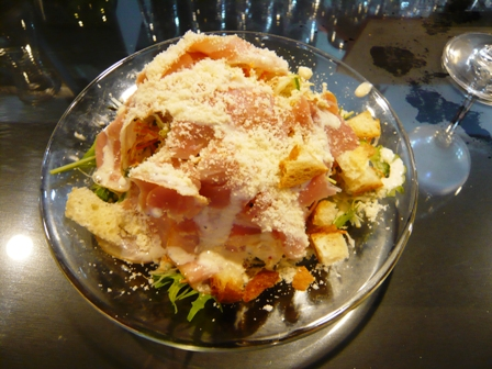 びすとろ:スモークハムのシーザーサラダ