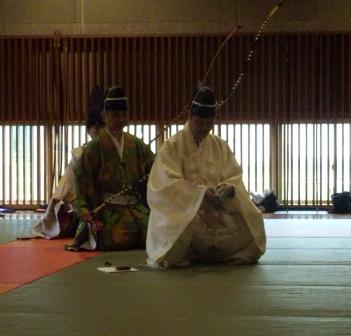 弓道体験 1