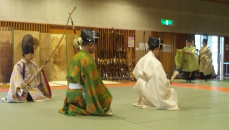 弓道体験 4