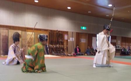 弓道体験 2