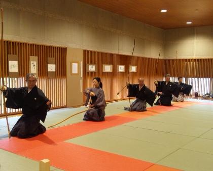 弓道体験 7
