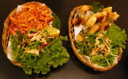 多楽製麺:料理1、2
