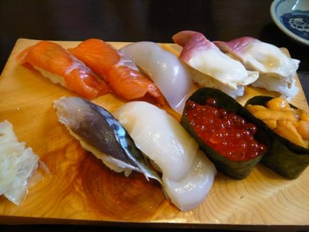 おたる八角屋:北海寿司