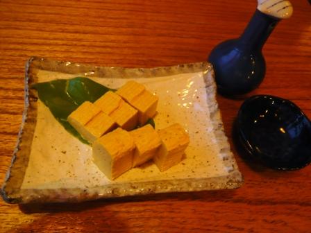 琉球割烹ダイニング司:厚焼き玉子
