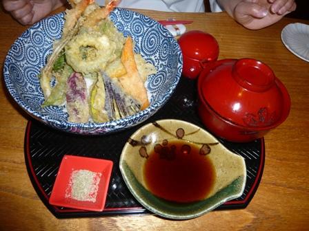 琉球割烹ダイニング司:天丼