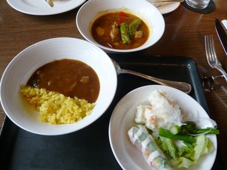 サンコーストカフェ:ビュッフェ料理2