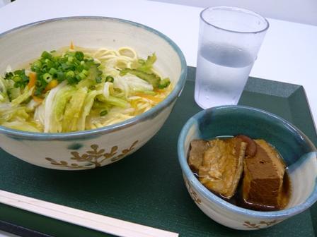 やいま村:野菜そば
