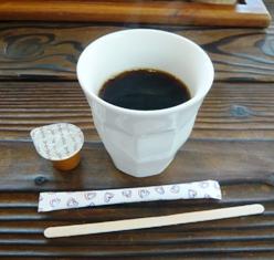 うみそらcafe:ホット珈琲