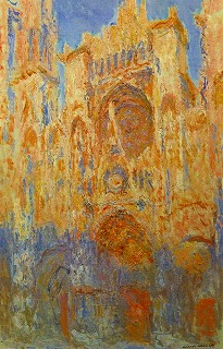 384px-Claude_Monet_-_Rouen_Cathedral,_Facade_(Sunset)