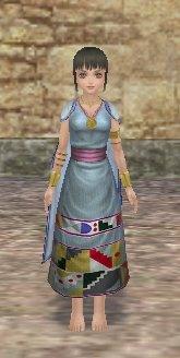 マヤ女王のドレス