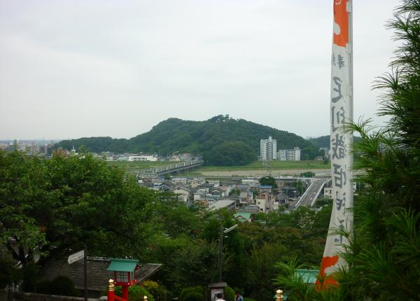 神社からの景色