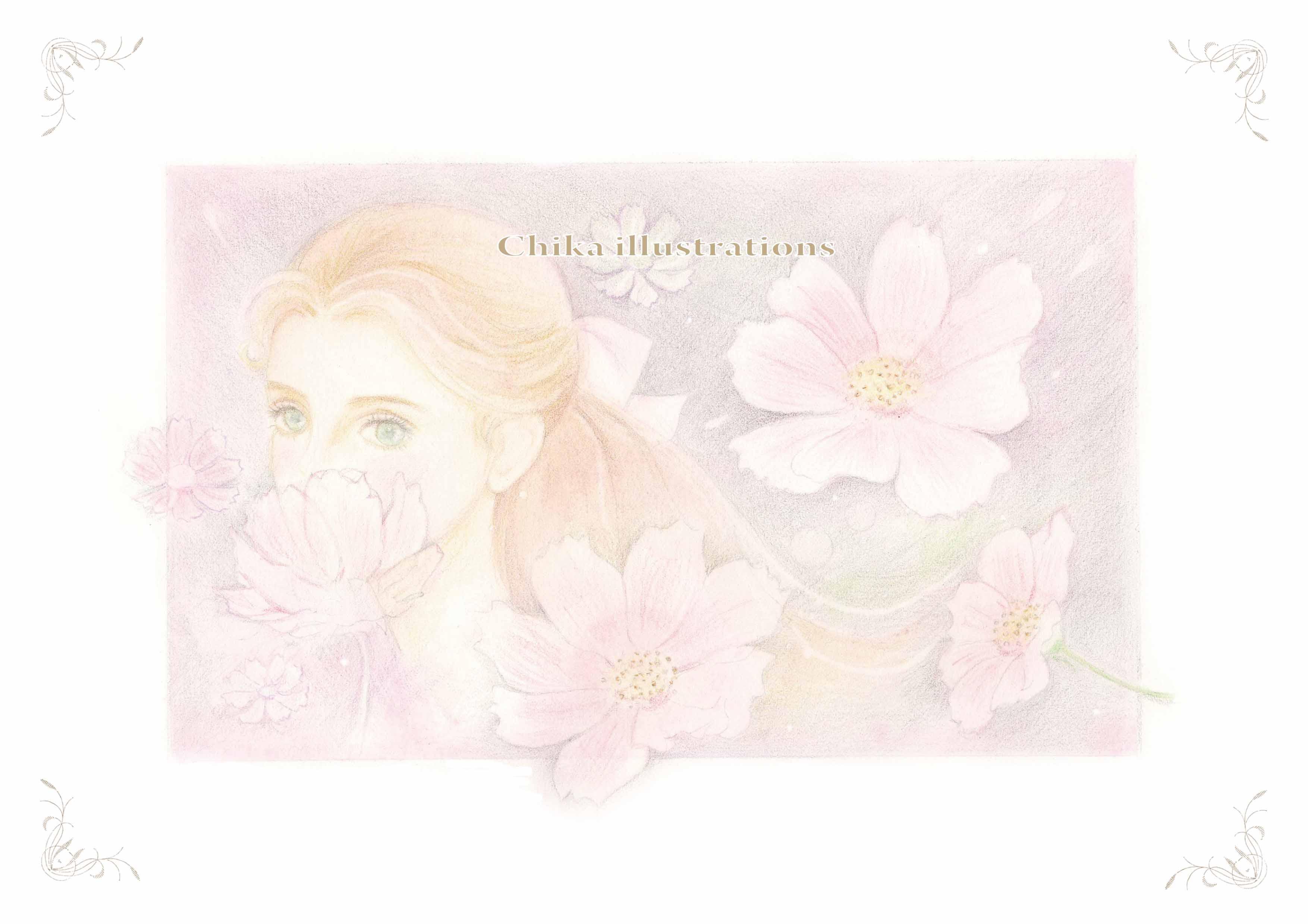 花のささやき ブログ用psd