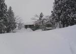 雪掘り終了