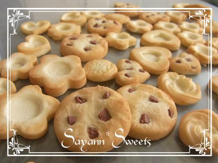 クッキー焼き色つき