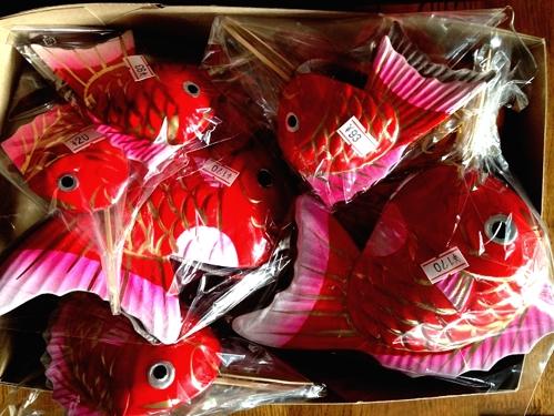 お飾り張子の鯛