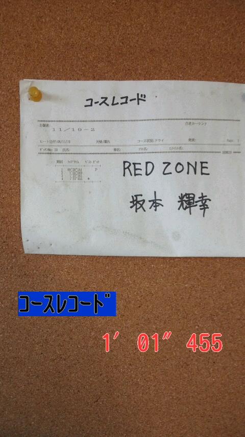 コースレコード