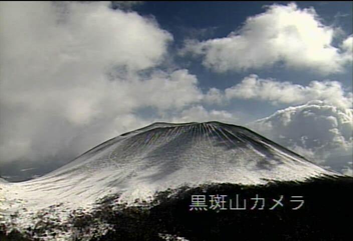 黒斑山から浅間山 20130221 10:08