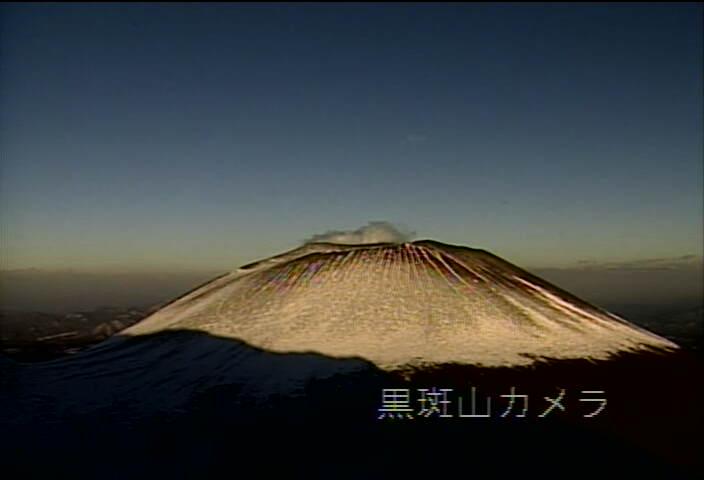 黒斑山から浅間山 20130221 17:01