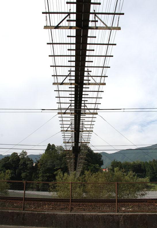 塩郷の吊り橋(2)