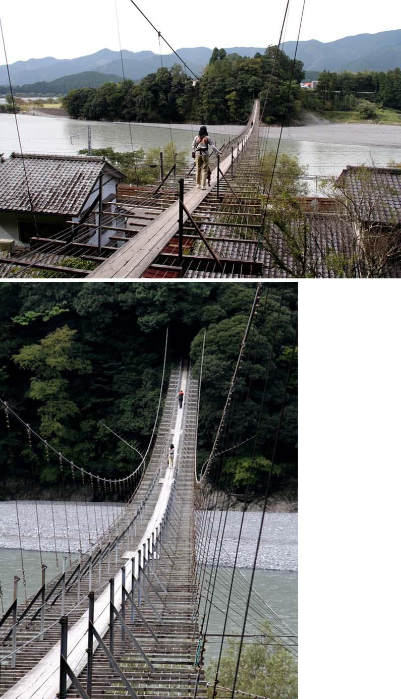 塩郷の吊り橋(5)