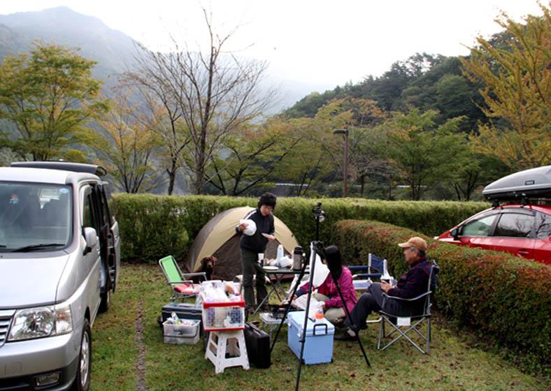 井川キャンプ場にて(2)