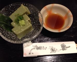 さらしな蕎麦豆腐