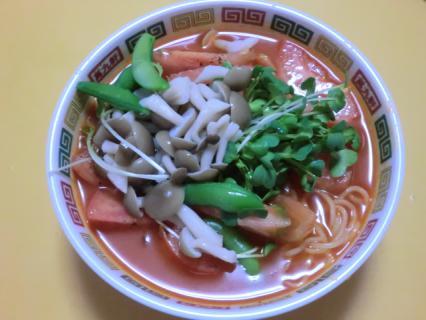夏の冷たいトマトのラーメン 日清食品チルド-2