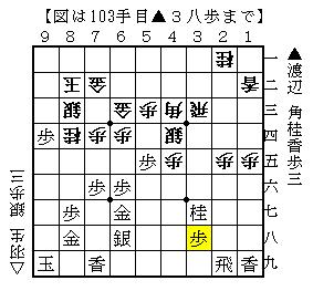 第60期王座戦第2局▲渡辺△羽生-4