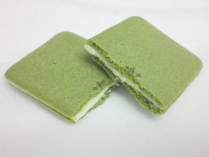 マールブランシェお濃茶ラングドシャ茶の菓-3