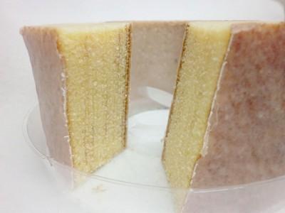 バニラチーズチョコの3種類のバウムクーヘン