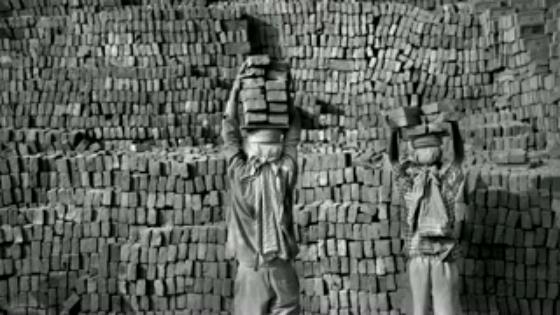 レンガ工場の奴隷