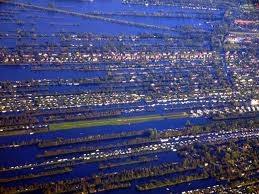 オランダの干拓地