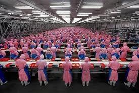 中国生産ライン