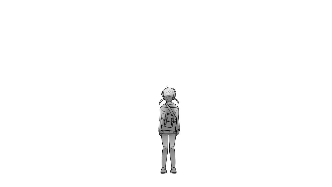 真っ白な世界