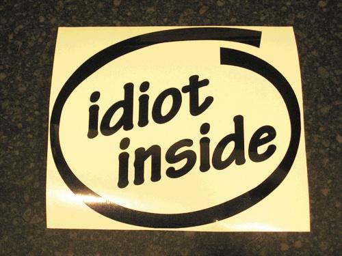 idiot inside