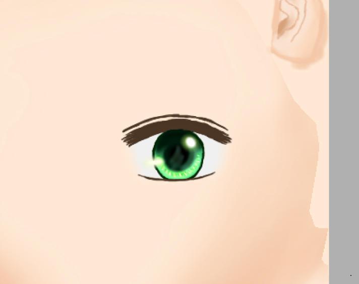 目の線二重