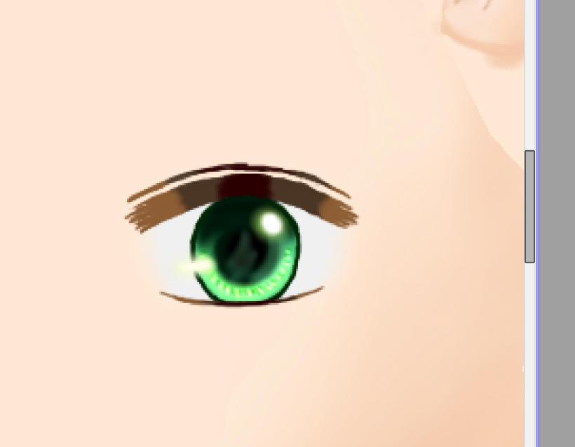 目の線色2