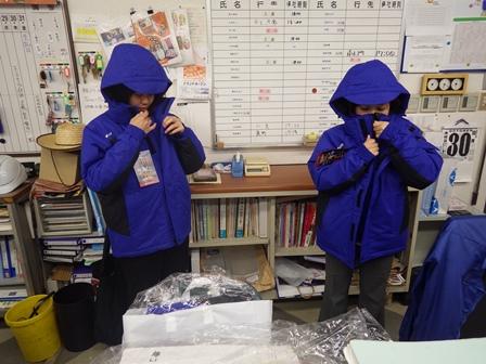 防寒着ファッションショー (2)