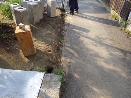 フェンス工事 (1)